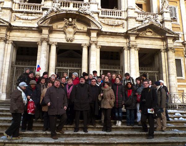Púť hnutí a združení  k hrobu sv. Cyrila 13. – 19. februára