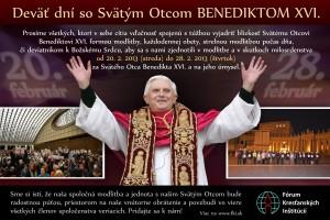 9 dní s Benediktom XVI.