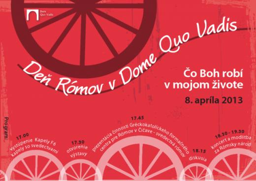 Deň Rómov v Dome Quo Vadis