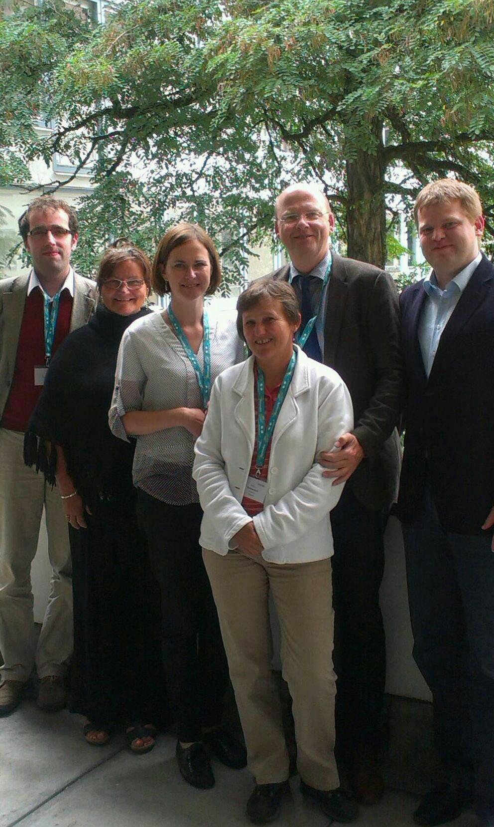 Stefan Vesper a zástupcovia FKI a RpLaH vo Freisingu