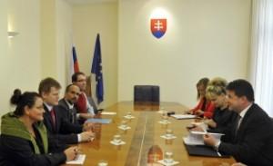 Stretnutie FKI a FŽ s ministrom Lajčákom, FOTO: mzv.sk