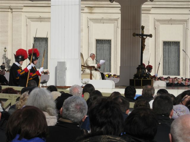 Audiencia u papeza Frantiska (12.02.14)