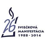 Sviečková manifestácia 1988-2014 (logo)
