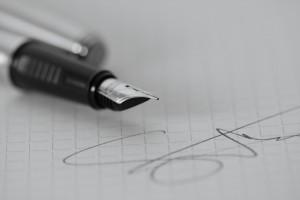 Podpis, ilust. foto (zdroj flickr.com)