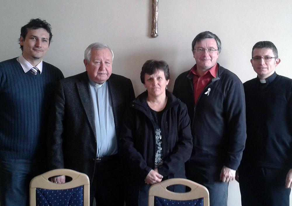 Zástupcovia FKI s biskupom Sečkom o Dni rodiny na Spiši