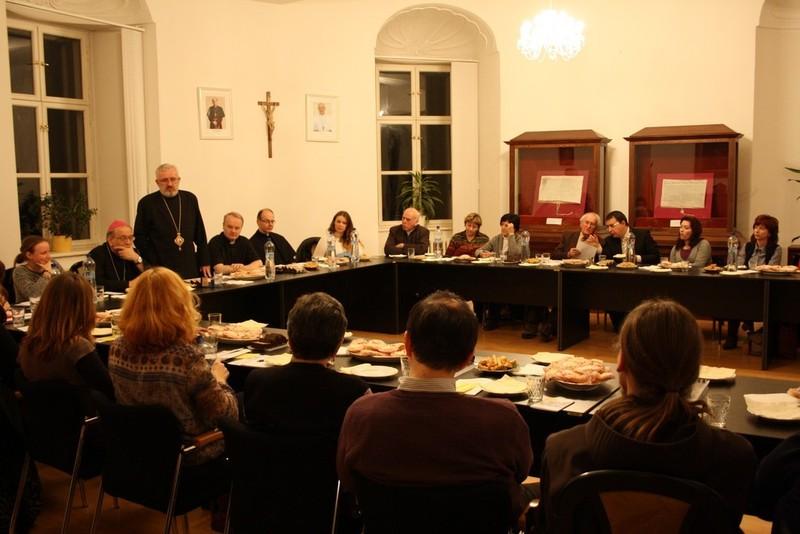 Trnavský arcibiskup sa stretol s vedúcimi laických hnutí