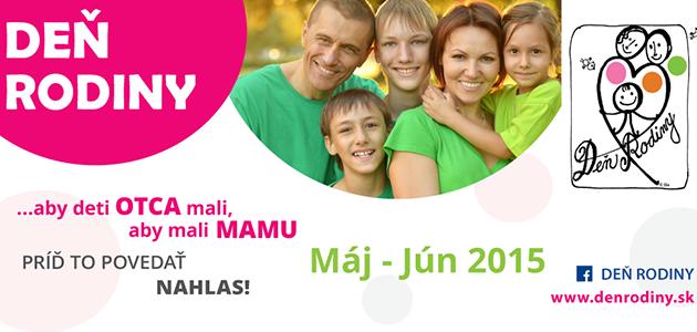 Deň rodiny 2015