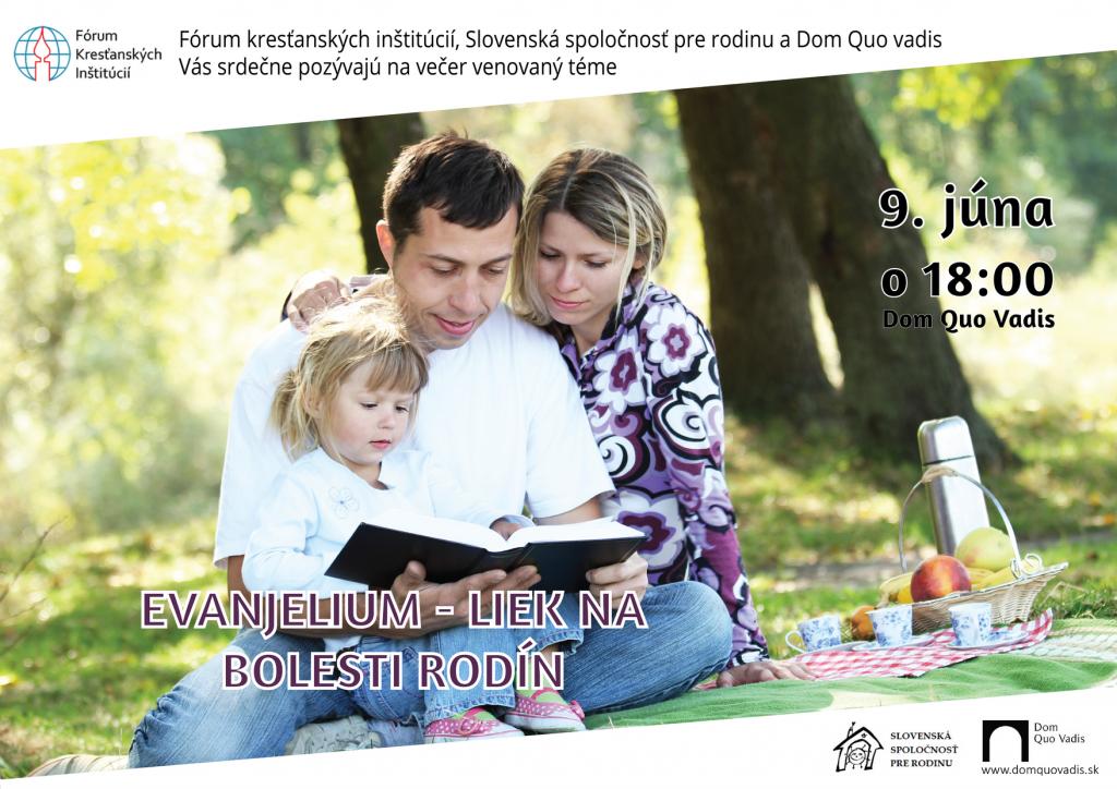 Evanjelium - liek na bolesti v rodinách