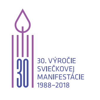 Sviečková manifestácia 2018