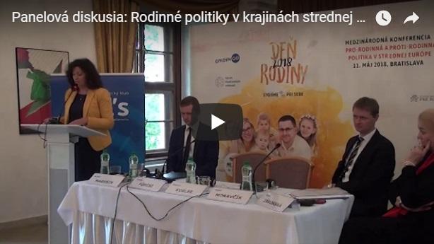 Video: Rodinné politiky v krajinách strednej Európy
