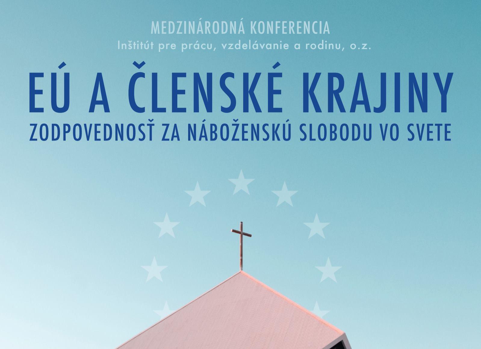 Audio záznam konferencie Zodpovednosť za náboženskú slobodu vo svete