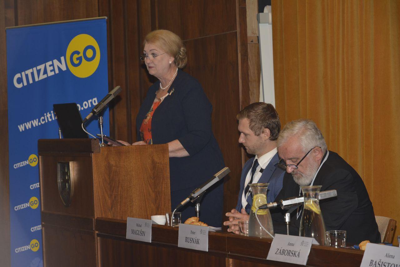 Anna Záborská – Téma rodiny na pôde Európskeho parlamentu
