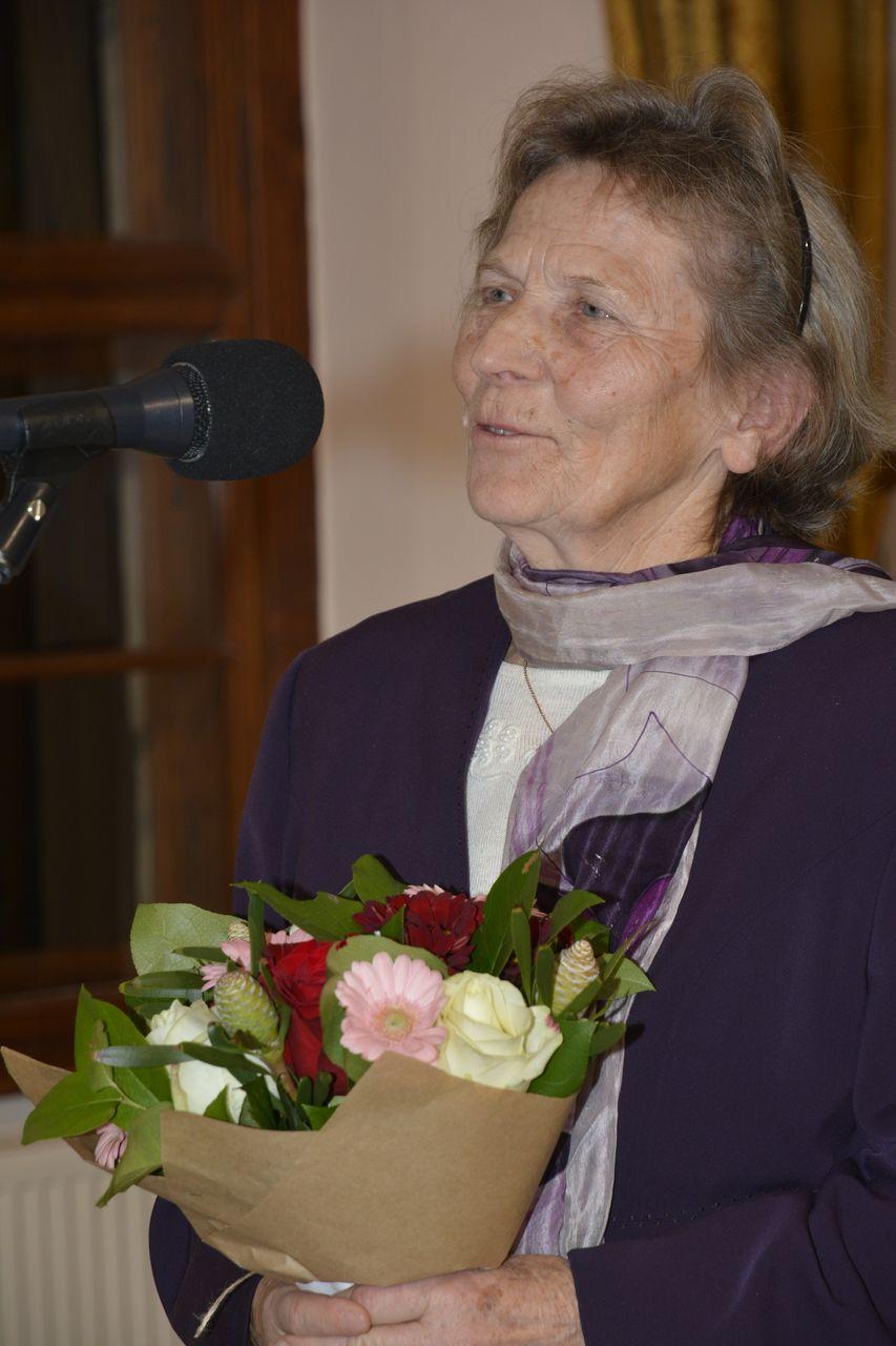 """Terézia Lenczová – ďakovná reč pri prevzatí ceny """"Vy ste svetlo sveta"""""""
