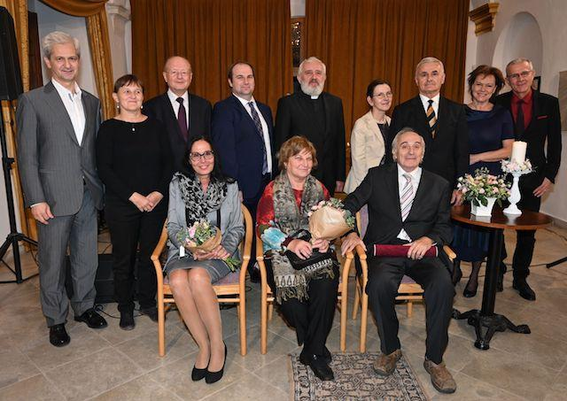 Manželia Ďurikovičovci a Ján Benček in memoriam získali ocenenie FKI