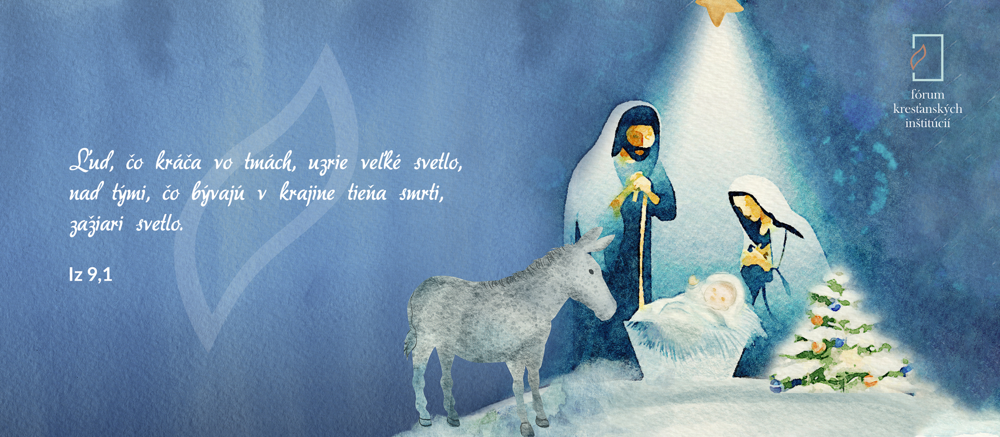 Prajeme vám požehnané Vianoce!