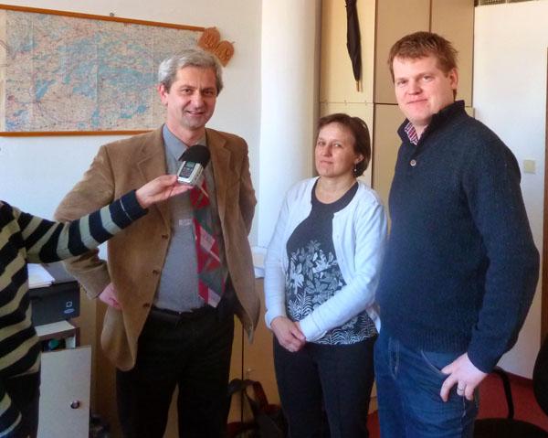 Pavol Kossey, Katka Hulmanová, František Neupauer