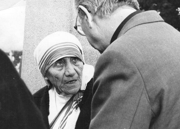 Matka Tereza a kardinál Ján Chryzostom Korec