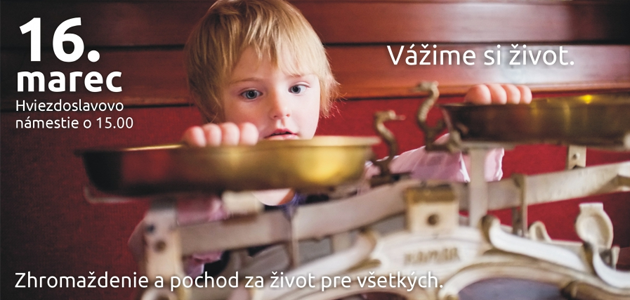 16. marec 2013: Bratislava za život