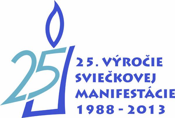 Sviečková manifestácia 2013 - logo