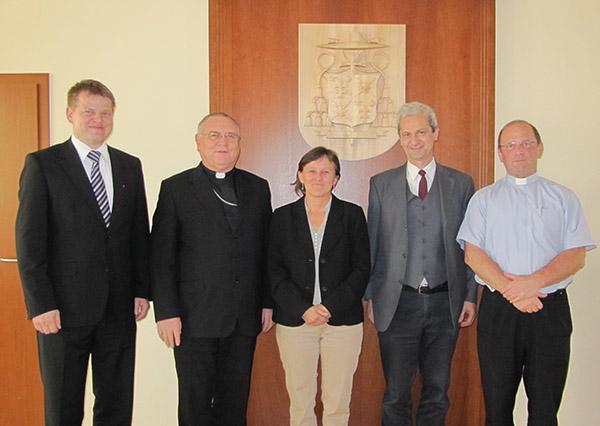 FKI na stretnutí s biskupom Galisom