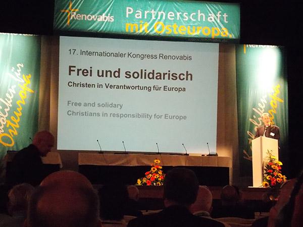 Kresťania sú zodpovedný za budúcnosť Európy, zhodli sa delegáti na 17. kongrese Renovabis