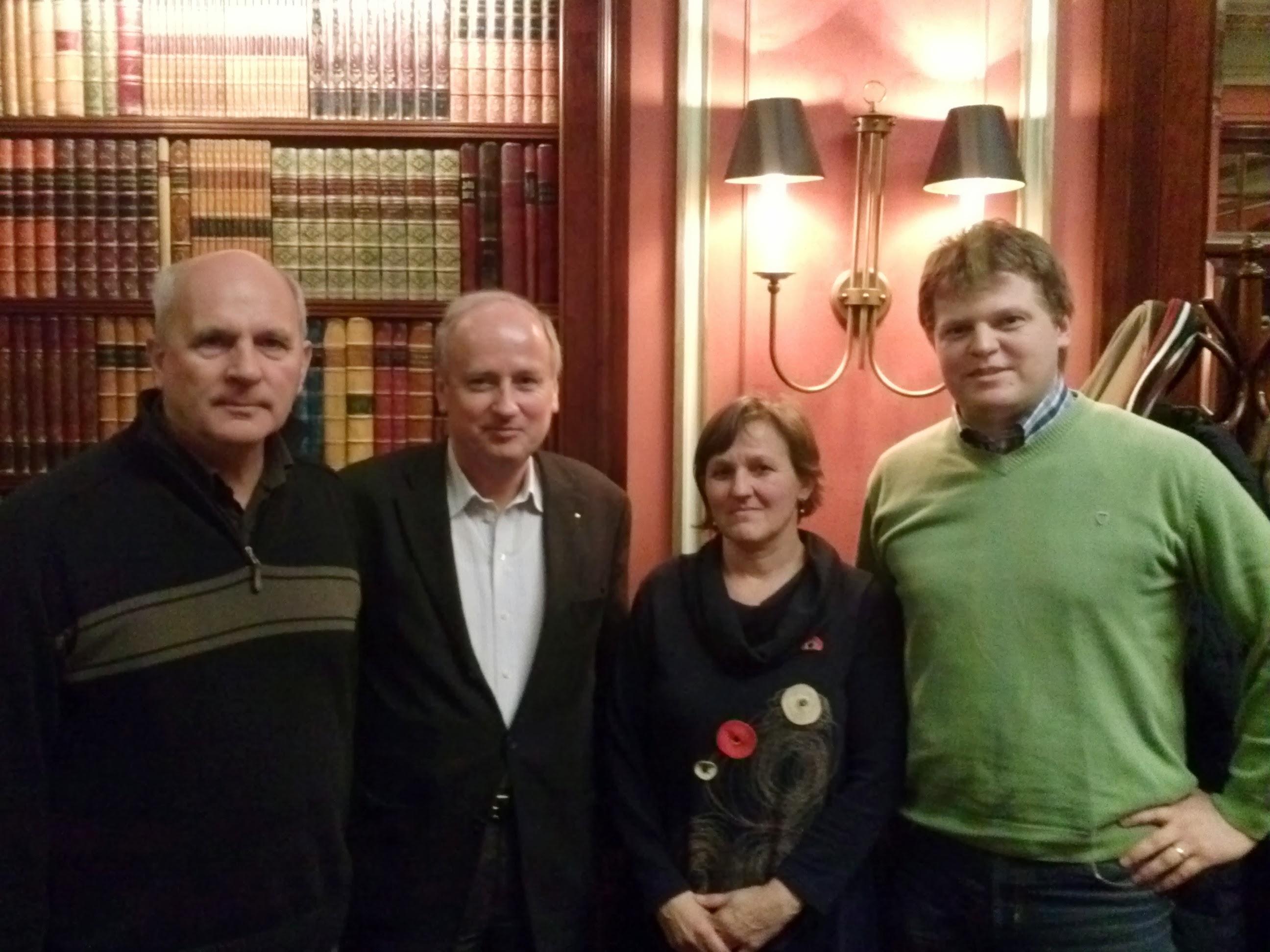 Stretnutie s Adalbert Stiftung (29. januára 2013)
