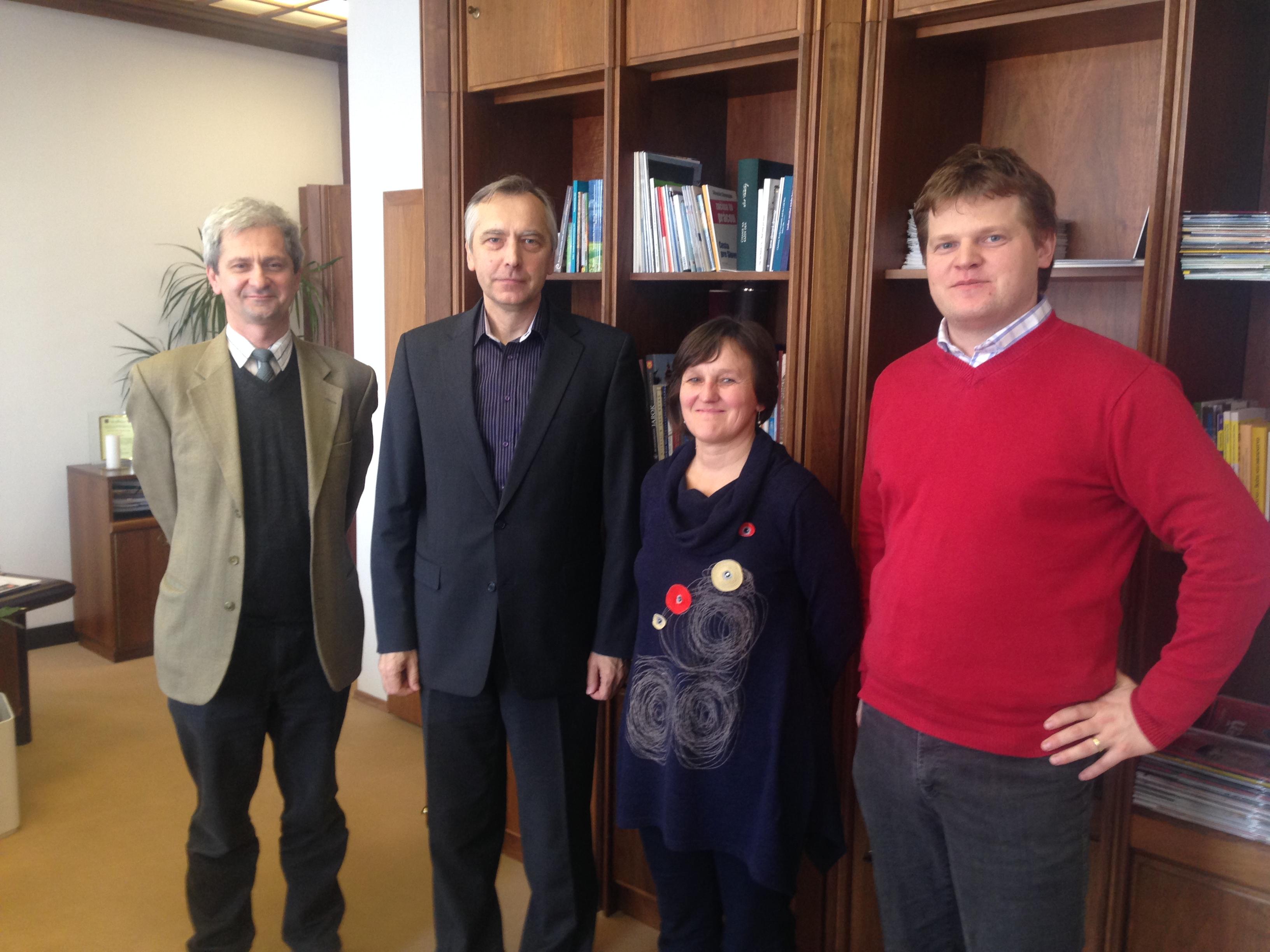 Stretnutie s podpredsedom NR SR Jánom Figeľom