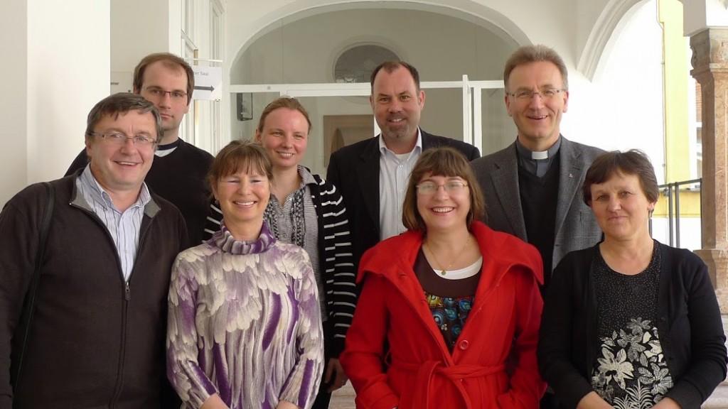 Návšteva v Renovabis, Freising 9. 4. 2014