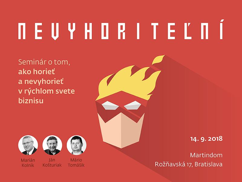 V septembri sa uskutoční seminár o vyhorení pre podnikateľov a manažérov