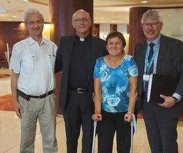 Nový riaditeľ Renovabis prijal zástupcov Fóra kresťanských inštitúcii